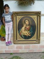 Huge Bieder holy image, 2nd half of 1800s