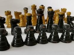 Antik bécsi stílusú kávéházi sakk