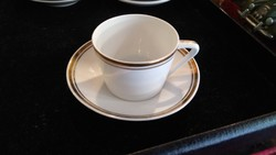 Hollóházi cup 20. Sz. From third to third, flawless retro cup with saucer