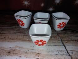 Raven house porcelain glasses