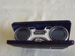Japanese sports glass retro theatrical binoculars binoculars 2.5 x 25 m / m incomplete