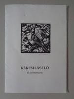 15 linocuts by László Kékesi (1919-1993)