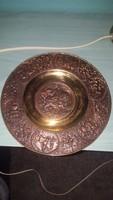 Bronze wall plate