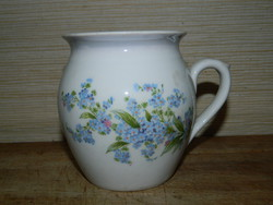 Zsolnay forget-me-not jar
