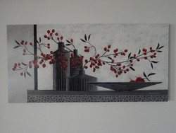 Claudia ancilotti: still life in red-gray