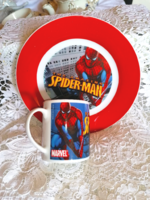Fairytale porcelain set with spider man