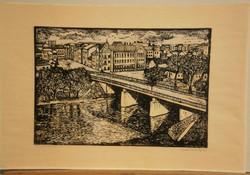 Lajos Mészáros (1925-1971) - Zagyva Bridge