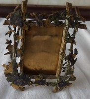 Copper photo holder