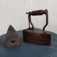 Special antique iron, cast iron special iron insert!