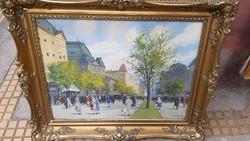 Painting berkes antal oil on canvas
