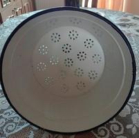 Large Bonyhadi two-eared, enamel filter - test filter - 28 + 14 cm