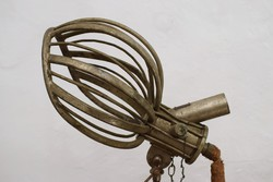 Antique salon hair dryer cover / old / rare / pluto reed budapest / stand / 1900s