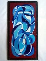 András Hargitai's painting