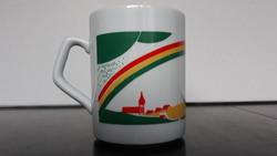 Rare patterned zsolnay mug
