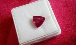 3.30 Carat Ruby Gemstone Certificate