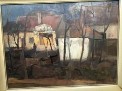 László Meggyes - sunlight (Szolnok artists' colony)