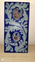 Westerwald salt glazed ceramic tile wall decoration