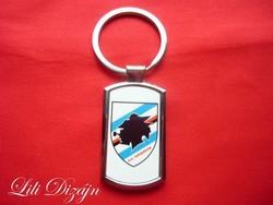 U.C. Sampdoria metal keychain