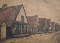 J. Borchert (Beginning of the 20th century) - street detail