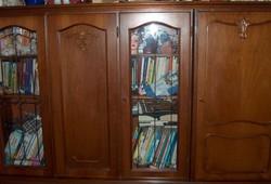 Neo-baroque 5-door cabinet, 150 cm high