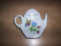 Hollóházi teafilter tartó