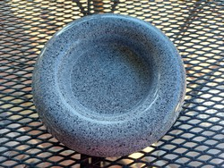 Baldelli Italian ceramic ashtray, jewelry holder, holder, marked, modern shape