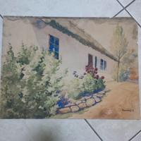 Bereczk K. akvarell