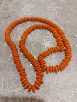 Coral, vintage necklace.