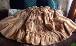 Liska nerc bunda 40/42 méretű, az eredeti ár töredékéé