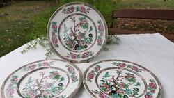 English porcelain plates