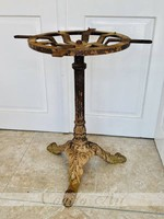 Antique cast iron table