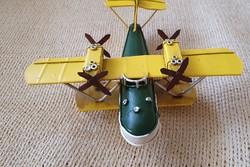 Vintage stílusú Repülő makett