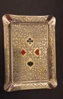 Poker patterned ashtray