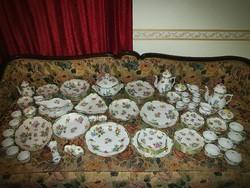 Immaculate 93 herend vbo victoria tableware tea coffee mocha cake set