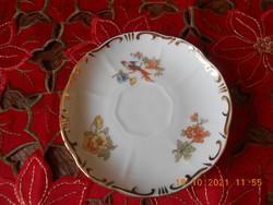 Zsolnay tomato bird coffee small plate