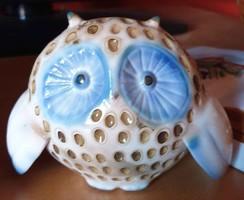 Aquincum rare aqua owl for sale