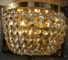 Svarowski crystal wall sconce