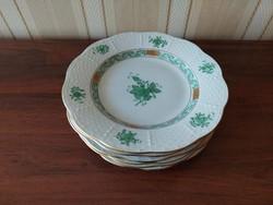 Herend apponyi pattern cake plate 16.5 Cm