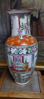 Hand painted larger Chinese porcelain vase, 47 cm