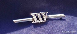 Xxv. Silver-gold-diamond badge