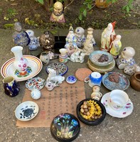 Huge collection package sale! 34 Sculpture figurine porcelain ceramic Chinese Japanese Asian European