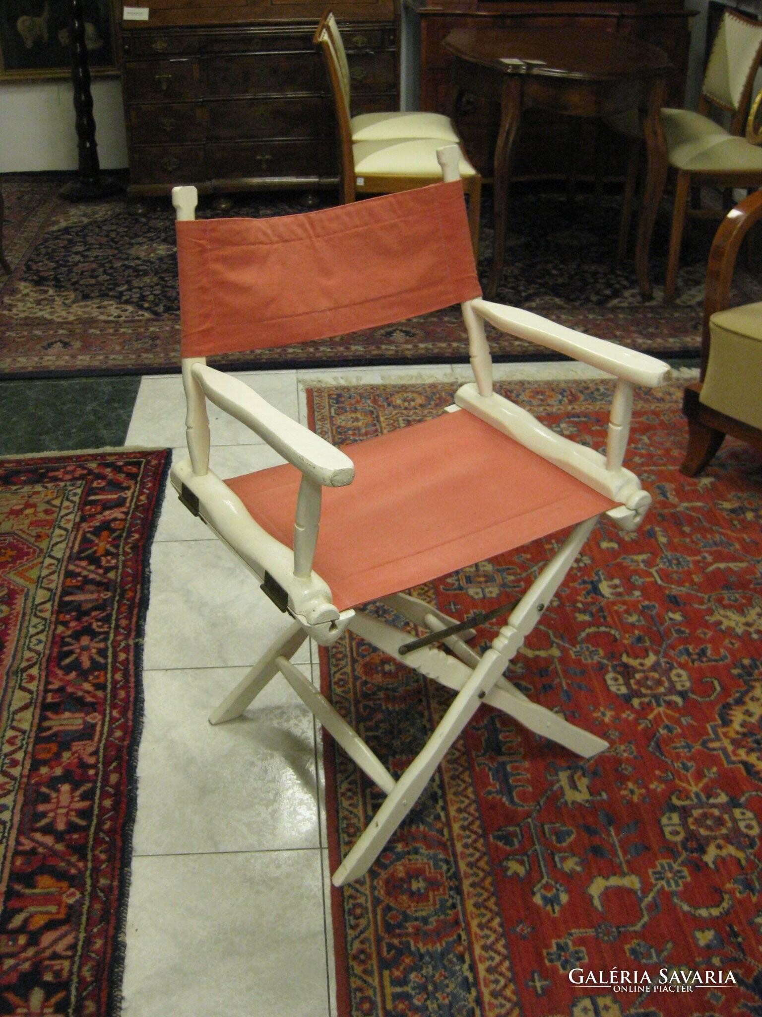Rendezői szék Bútor | Galéria Savaria online piactér Antik