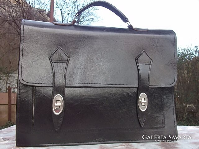 Akció ! Klasszikus Férfi Irattáska-ügyvédi táska bőr 40x30 cm ... 468141db31