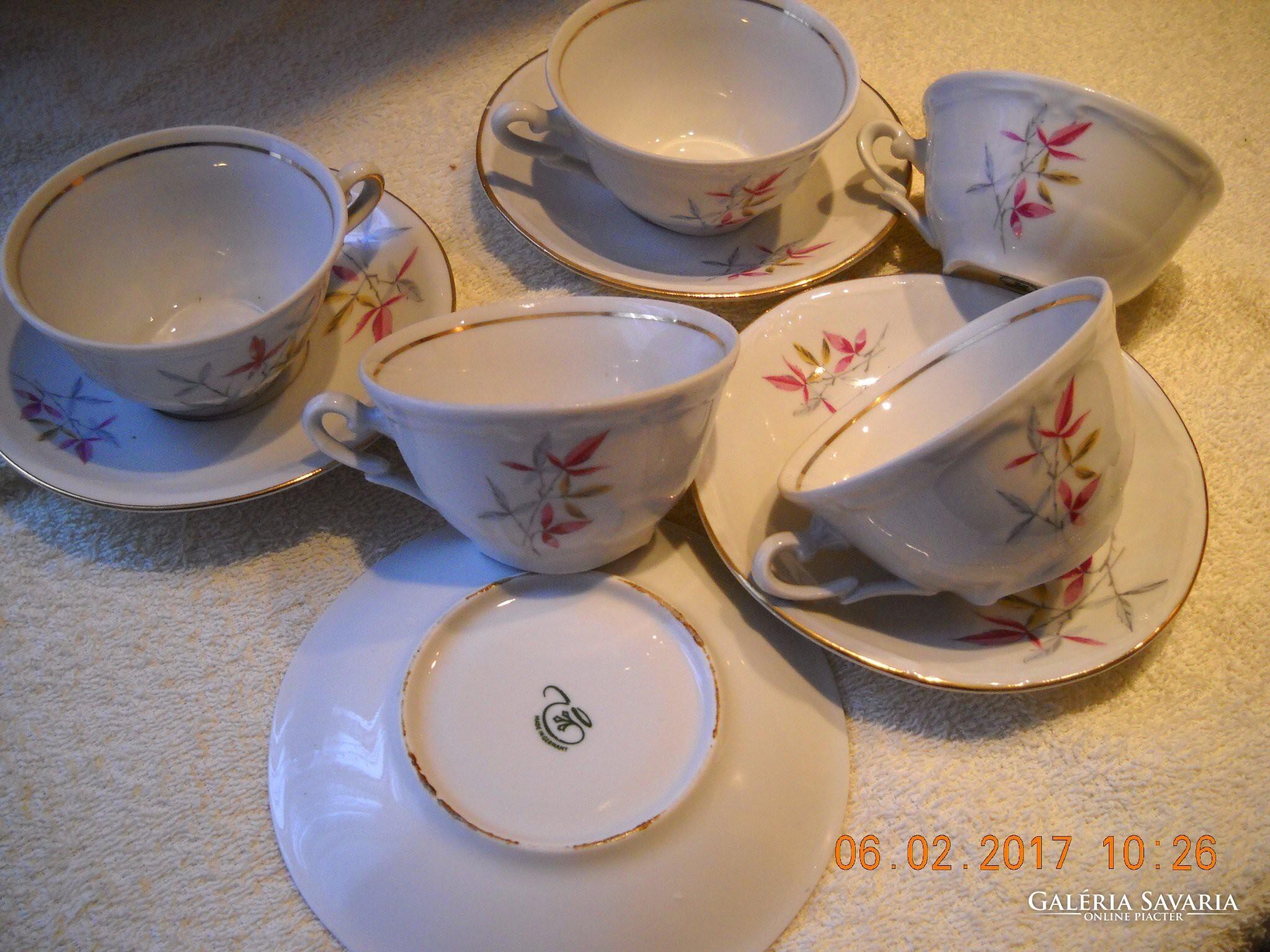Antik porcelán teáskészlet eladó! - Porcelán  66070cdaac