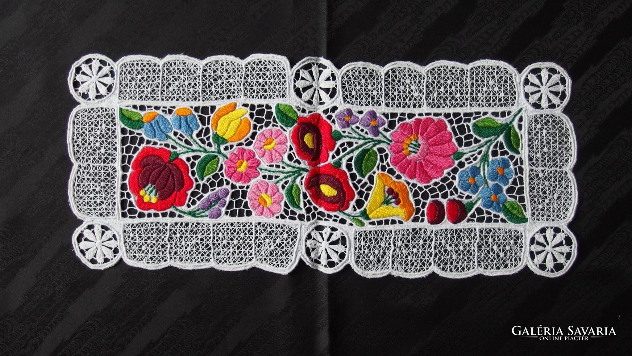 85a33b8b80 Kalocsai színes riselt terítő - Szőnyeg, Textil   Galéria Savaria online ...