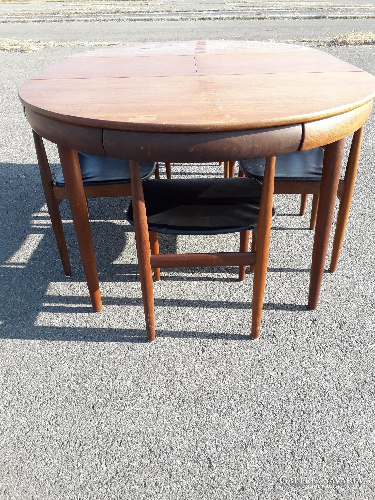 Hans Olsen Design For Frem Rojle 6 Szem 233 Lyes 233 Tkezőgarnit 250 Ra D 225 Nia 1960 As 233 Vek