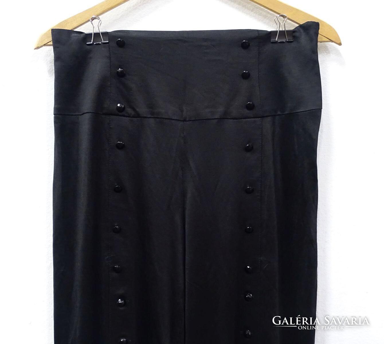 0V872 Versace fekete férfi farmernadrág 46 os Wardrobe